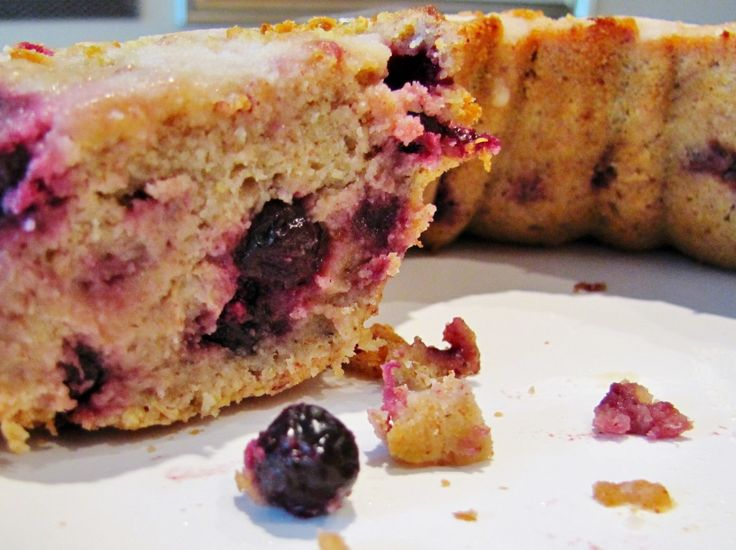 We love unique fruits this lemon saskatoon berry coffee cake is gluten free xylitol sweetened - Unusual uses for lemons ...