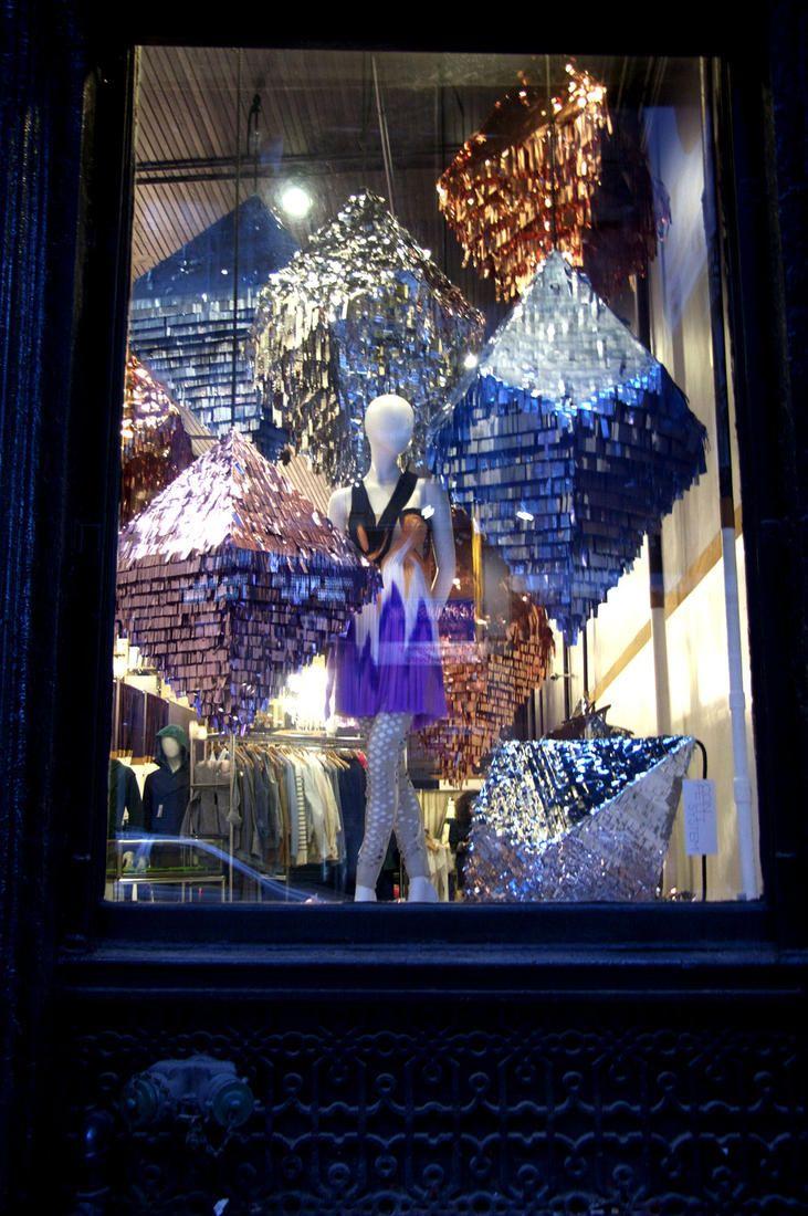 Confetti System : Window Display #pinata