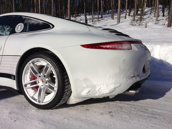 Porsche C4S Ivalo Finland