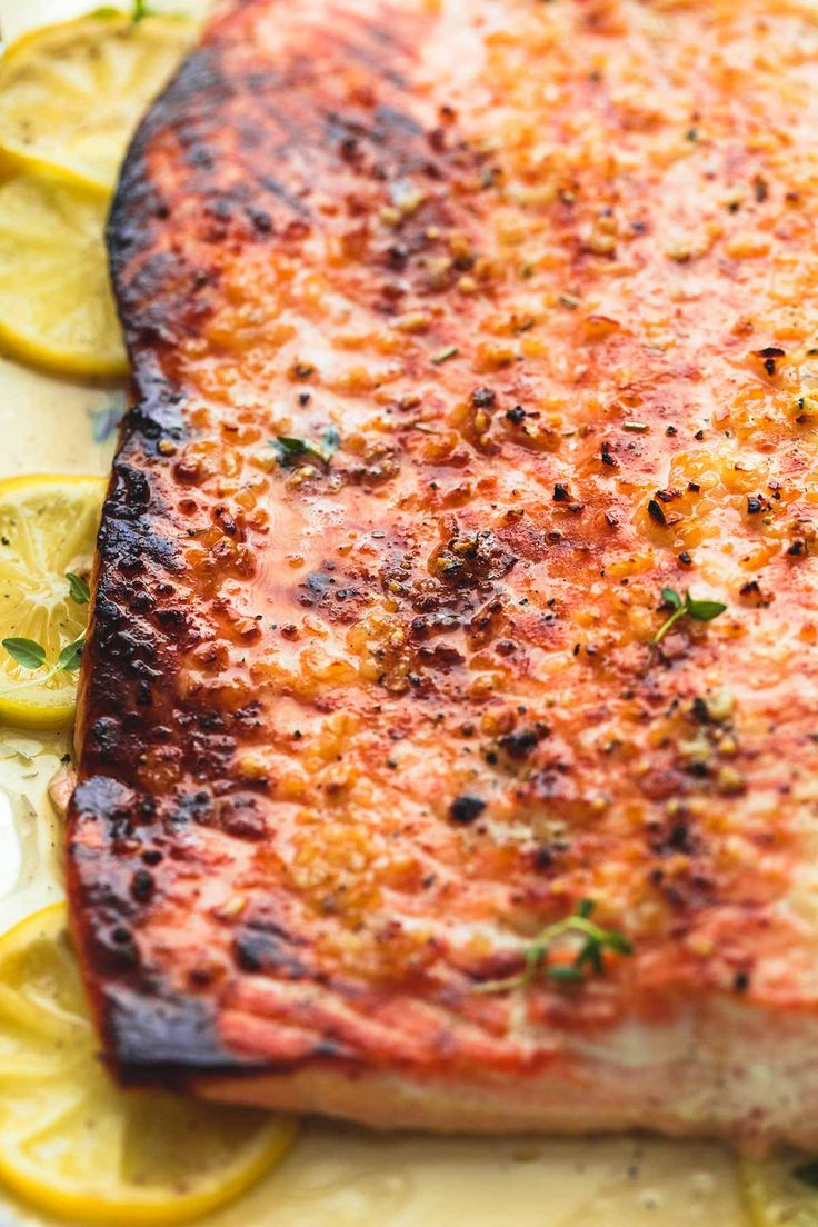 Simple and healthy baked honey lemon garlic salmon in foil is full of flavor and a breeze to make for no-fuss weeknight dinners or special occasions.