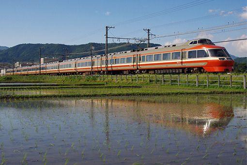 小田急電鉄/開成−栢山|お立ち台通信2―鉄道写真撮影地ガイド データベース|鉄道ホビダス