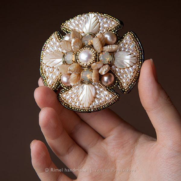 """PRODUCTS :: JEWELRY :: WOMEN :: Brooches :: Brooch """"Christmas Star"""""""