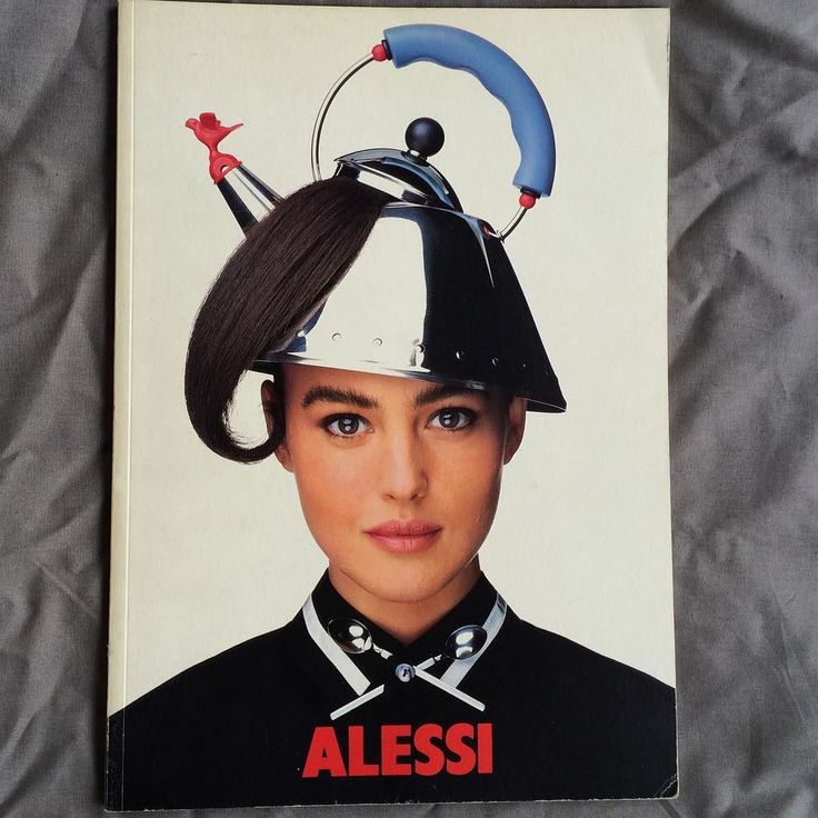 Vintage Alessi old catalogue really 80s style via somewheretokyo- fun, whimsical, chic