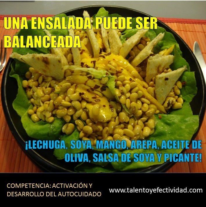 En un mismo plato...un buen balance de nutrientes