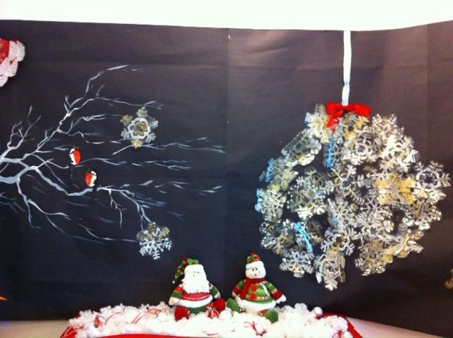 Dreaming of a White Christmas! - Winter Bulletin Board