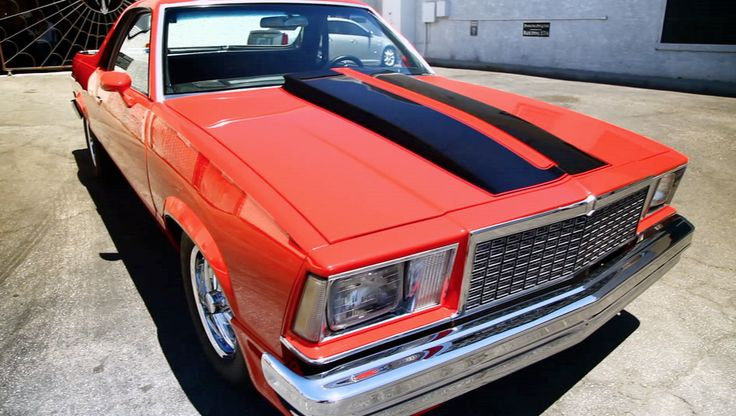 Back in the Wind: 1978 El Camino from the History Channel's Counting Cars.  Read more for the parts list for this #ElCamino.