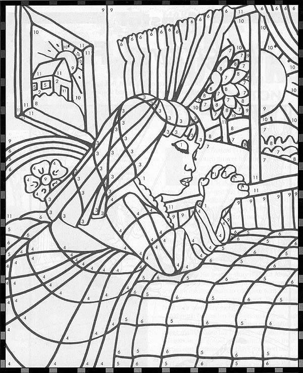 coloring page - Lds Primary Coloring Pages Prayer