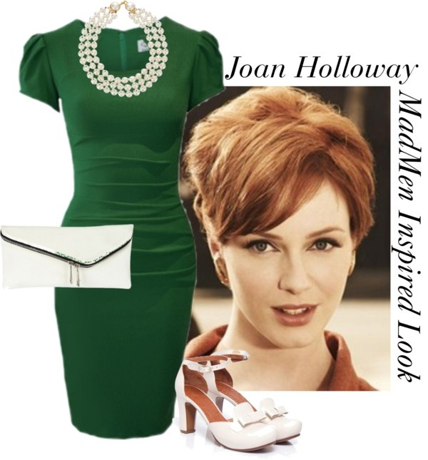 """""""MadMen: Joan Holloway"""" by dearunique ❤ liked on Polyvore"""