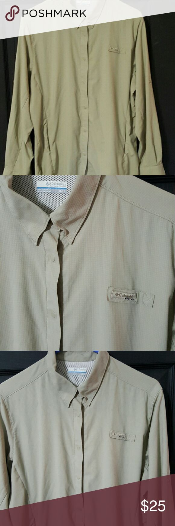 *LIKE NEW* Columbia  PFG Shirt Womens Sz XL *LIKE NEW*  Columbia  PFG Shirt Womens Sz XL Columbia Tops Button Down Shirts