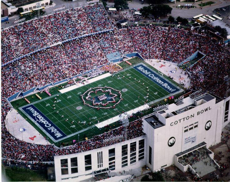 Cotton Bowl Stadium - Dallas Fair Park