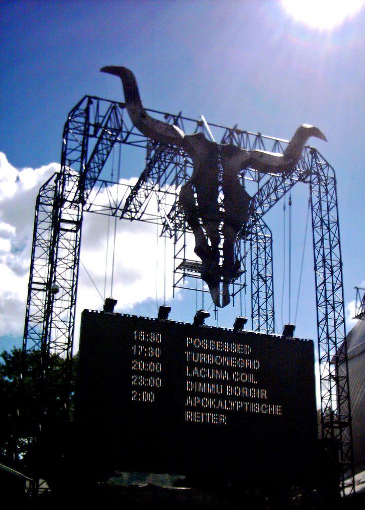 Display panel, Wacken Open Air 2006, Wacken