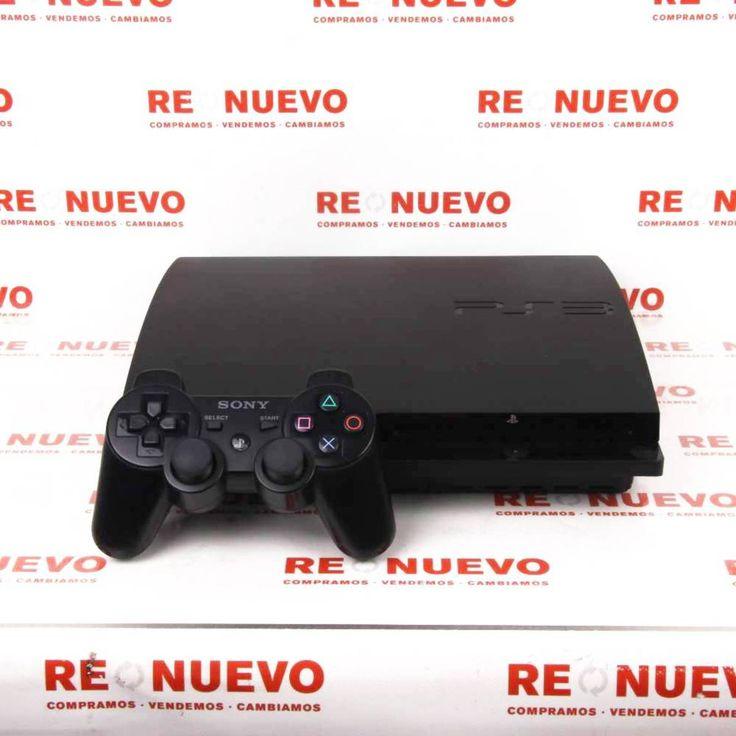 Consola PS3 Slim 160Gb + Mando Dual Shock 3#consola# de segunda mano#PS3