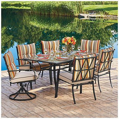 Wilson Fisher Westport 7 Piece Dining Set At Big Lots Bought