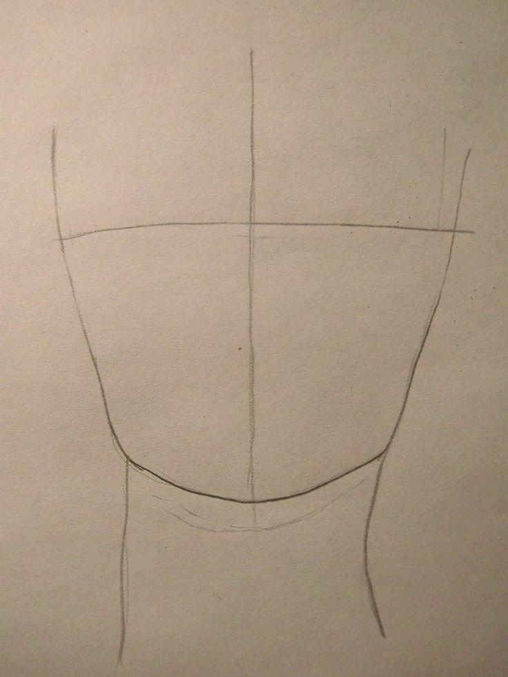 Как нарисовать Зуко из Аватар: легенда об Аанге карандашом поэтапно