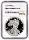 "♥"" 1997-P Proof American Silver Eagle $1 NGC PF69 UC SKU16645 http://ebay.to/2DhCOpW"