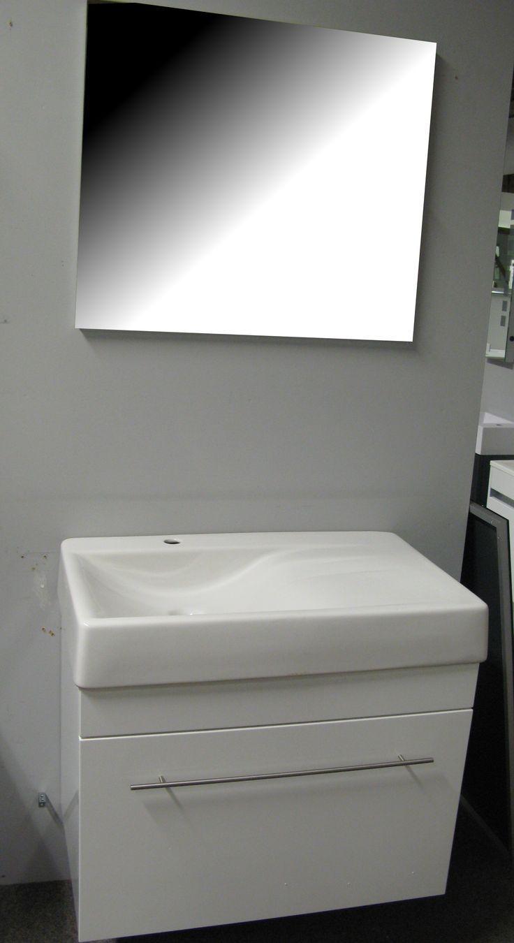 Outlet badkamermeubel - Wastafelkast outlet - Flow 80cm