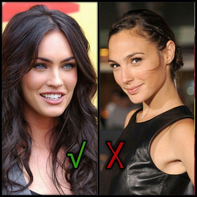 Wonder woman is Megan Fox, Noooo Gal gadot