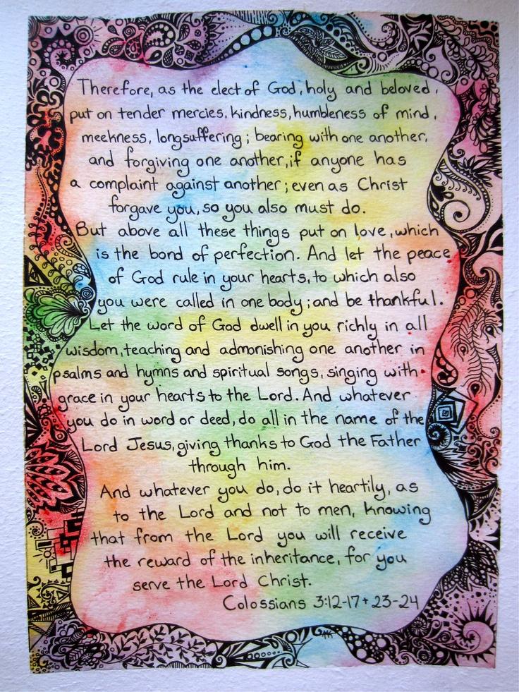 Colossians By Twiggyabi