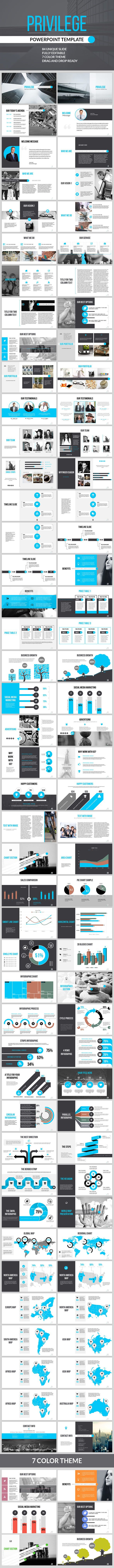 Privilege - Multipurpose PowerPoint Presentation (PowerPoint Templates)                                                                                                                                                                                 Mais