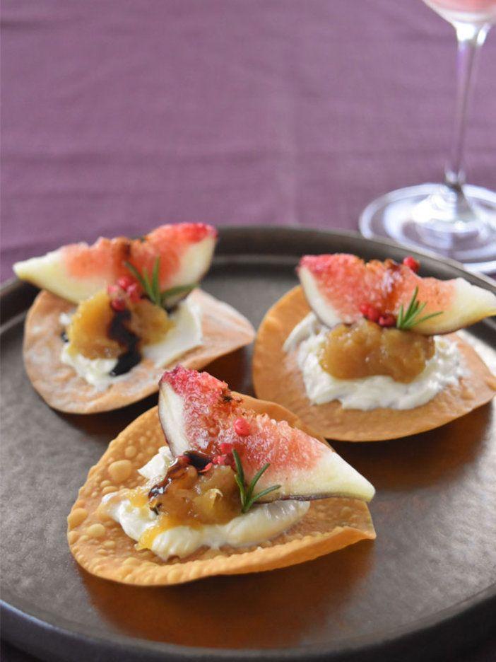 玉ねぎやバルサミコなど、いちじくの甘みに素直に寄り添う味わいをプラスするのがコツ。|『ELLE gourmet(エル・グルメ)』はおしゃれで簡単なレシピが満載!