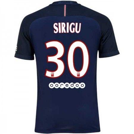 Paris Saint Germain PSG 16-17 Salvatore #Sirigu 30 Hemmatröja Kortärmad,259,28KR,shirtshopservice@gmail.com