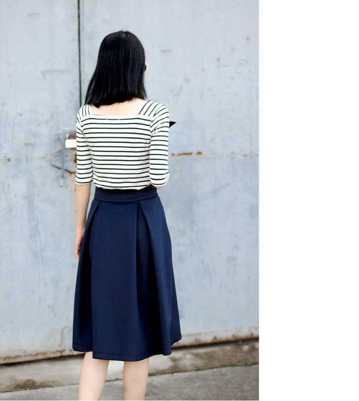 Hot New Vintage Pleating Ladies Long Skirt High Waist Slim Saia Feminino Retro Knee Length Skirt LQ4606-in Skirts from Apparel & Accessories on Aliexpress.com | Alibaba Group