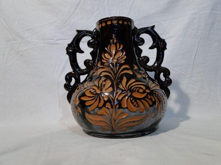 5209 Hatalmas Badár Balázs kerámia váza - Kerámia | Galéria Savaria online piactér - Antik, műtárgy, régiség vásárlás és eladás