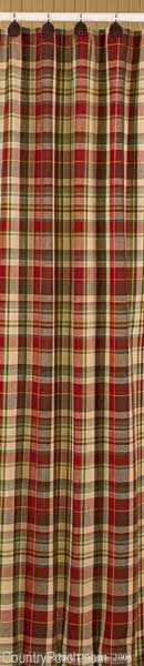 plaid curtains..great for the Fall. I have panels just like these..think I am going to pull them out for the Fall.
