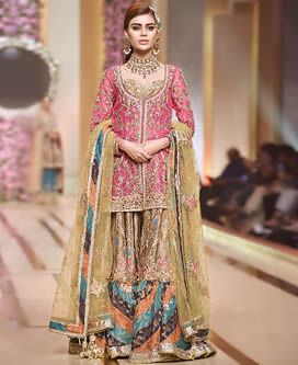 Image result for bridal gharara