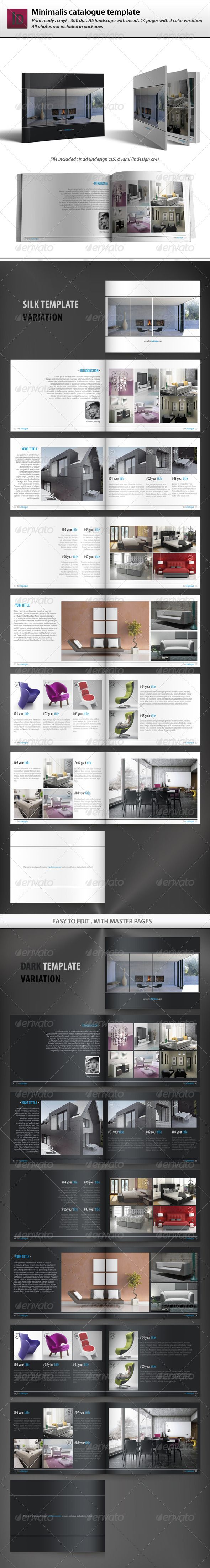 Minimalis Catalogue Template - Catalogs Brochures