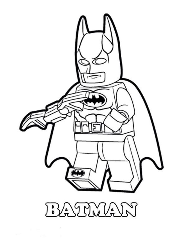 coloring page Lego Movie - Lego Movie