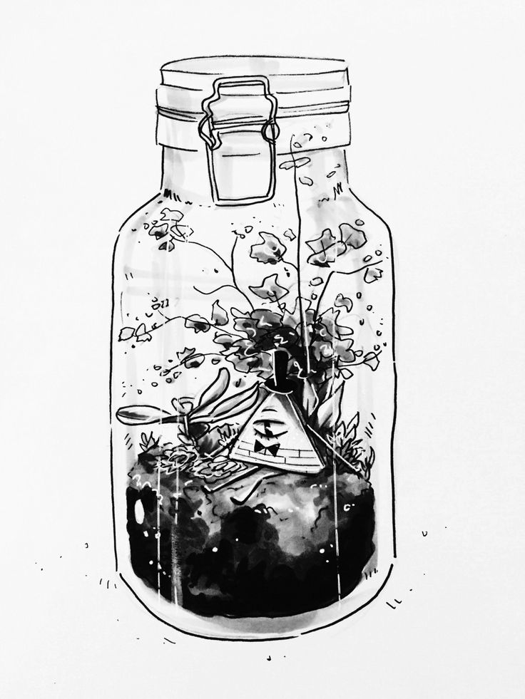 Mabel had been keeping Bill in a jar for a while now, Bill was strangely content. For he had forgotten that the outside world exists, except for Mabel, whom would talk to him. (Open rp, I'm Bill)