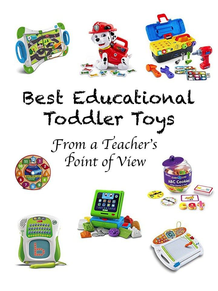 Best Educational Toys for Toddlers from A teacher's point of view. Each toy is great for learning activities