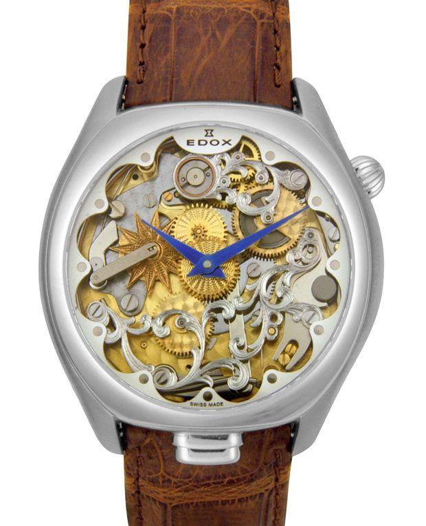 Bijzonder mooi. We houden je graag op de hoogte van mooie horloge in onze collectie. Edox skelet minute repeater automaat uurwerk €13950,-  www.juweelco.nl