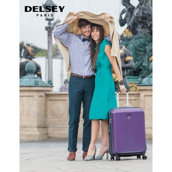"Shop the most extreme Cyber Monday deals to date! Get this Delsey Helium Shadow 25"" Spinner up to 85% OFF!"