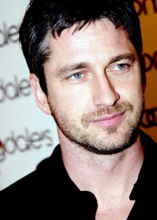 Gerard Butler has beautiful eyes...