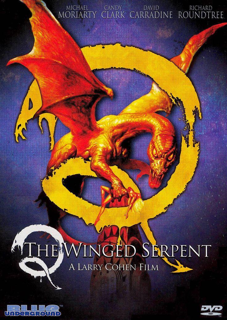 Q THE WINGED SERPENT DVD (BLUE UNDERGROUND)