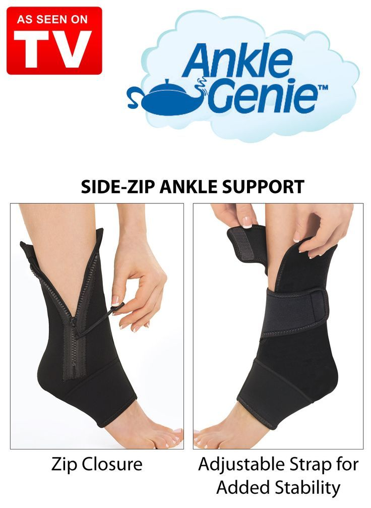 Ankle Genie Compression Sleeve to Reduce Foot Pain - compression sleeve for your ankle that has been seen on tv #ankle #anklegenie #soarankle