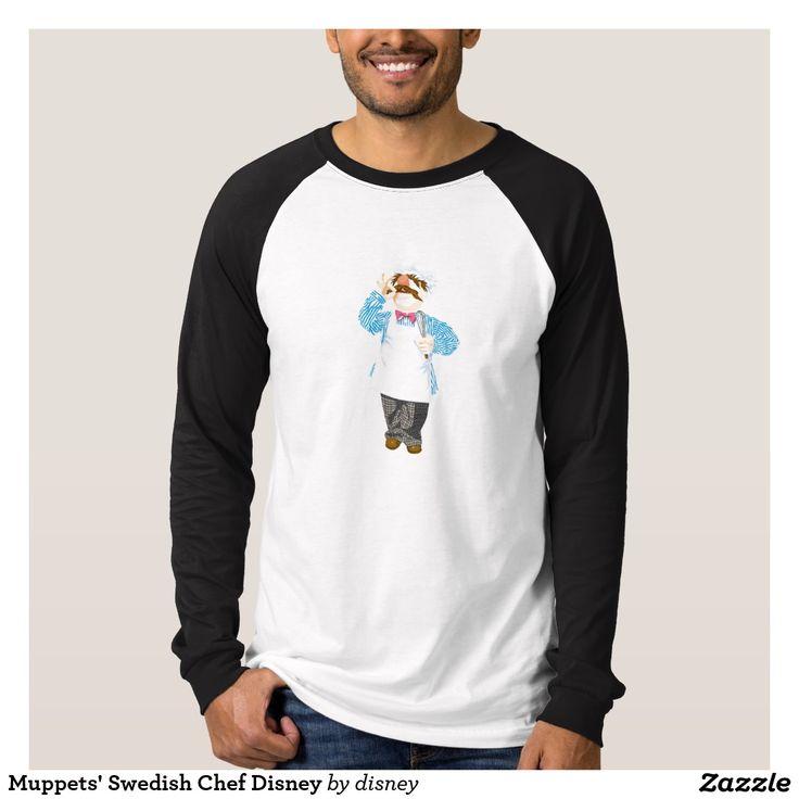 The muppets - El cocinero sueco Disney de los Muppets Remeras. Producto disponible en tienda Zazzle. Vestuario, moda. Product available in Zazzle store. Fashion wardrobe. Regalos, Gifts. Link to product: http://www.zazzle.com/el_cocinero_sueco_disney_de_los_muppets_remeras-235148954523596313?lang=es&design.areas=[zazzle_shirt_10x12_front]&CMPN=shareicon&social=true&rf=238167879144476949 #camiseta #tshirt