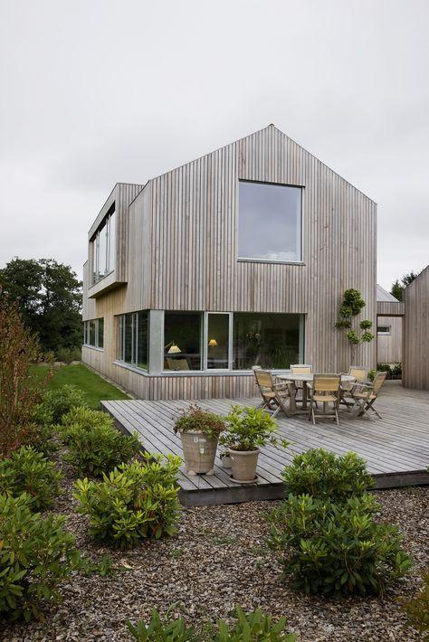 """Zeder in Dänemark Haus # 2, sehr schöne Patina und Tischbreite Zeder in """"Dänemark …"""