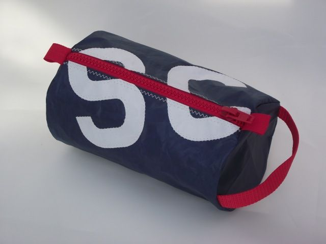 Personalised Sailcloth Wash Bags