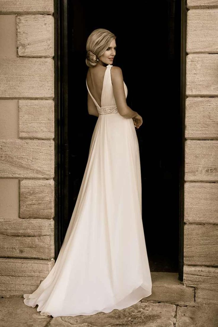 17 best Backless Wedding Dresses images on Pinterest   Wedding ...
