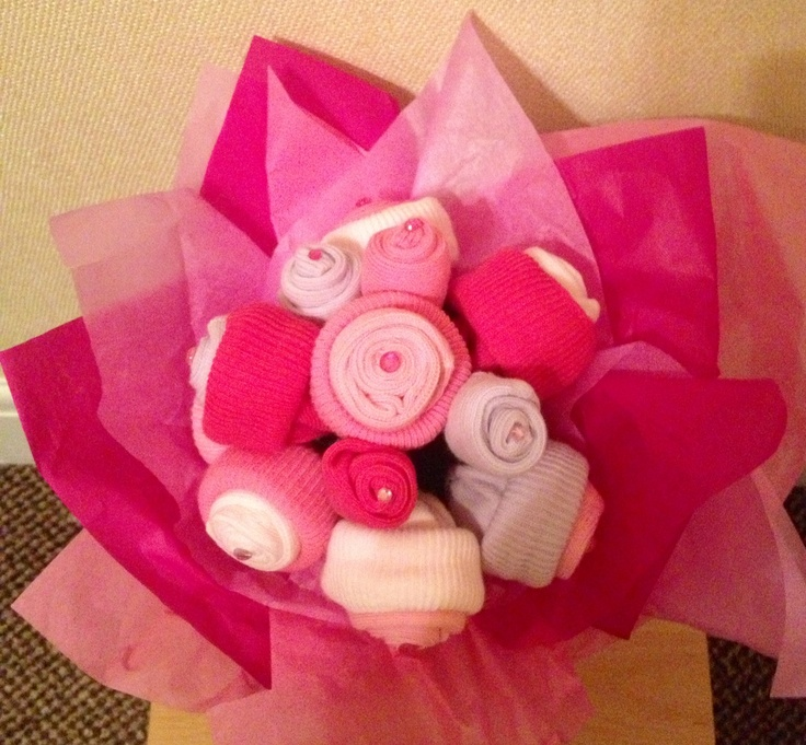 1000 images about Baby Sock Bouquet on Pinterest