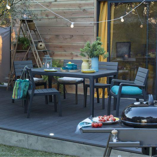 Les 25 meilleures idées de la catégorie Table jardin leroy merlin ...