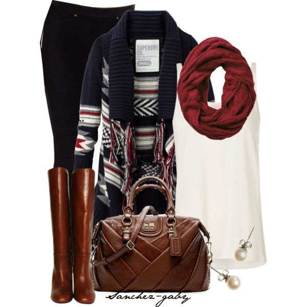 """Aztec Cardigan"" by sanchez-gaby on Polyvore"