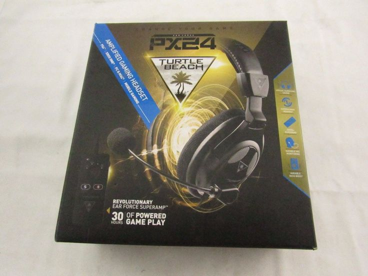 Turtle Beach Ear Force PX24 Over the-Ear Gaming Headset for PS4 Xbox One PC
