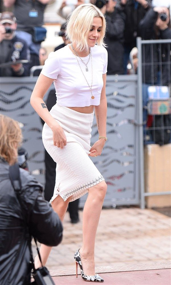 Kristen Stewart in a see through top at the Cannes Film Festival. ee more at http://www.pinterest.com/pinjunkie7971/female-celebrities/