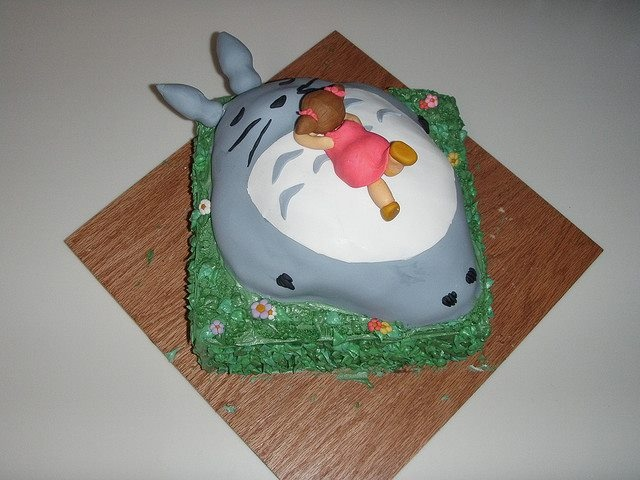 anime themed wedding cakes 311 best images about totoro cakes on birthday 10778