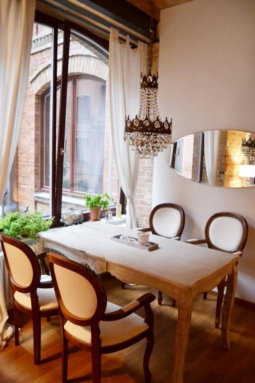 Schön Sehr Vornehm Eingerichtet Ist Dieser Essbereich! Schöne Möbel Schmücken Den  Raum! #ideen #