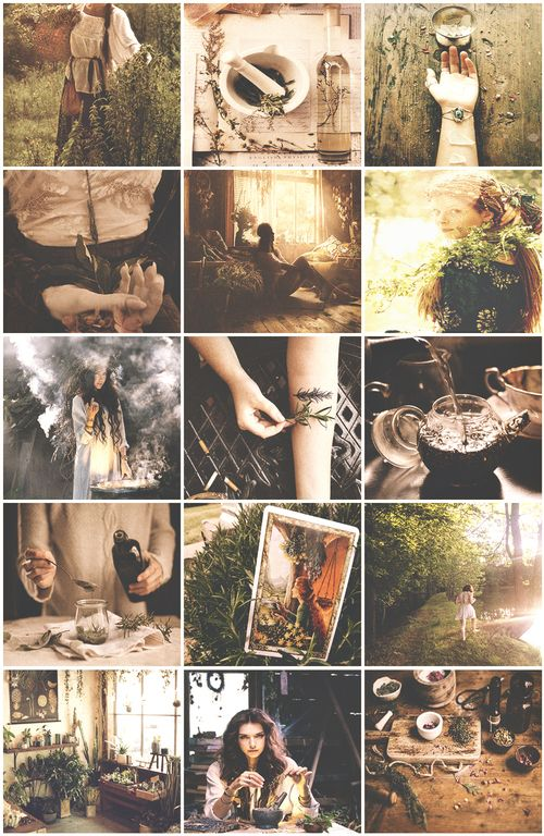 healer witch aesthetic, boho, and magic image